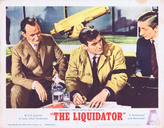 THE LIQUIDATOR Rod Taylor Jill St.John Lobby Card 8