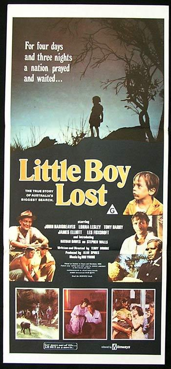 LITTLE BOY LOST Original Daybill Movie Poster 1978 John Hargreaves