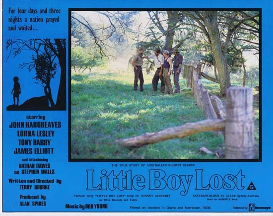 LITTLE BOY LOST 1978 Australian Film Classic Rare Lobby Card 3