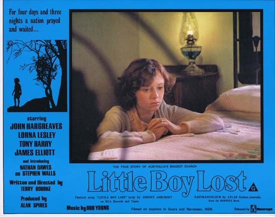 LITTLE BOY LOST 1978 Australian Film Classic Rare Lobby Card 6