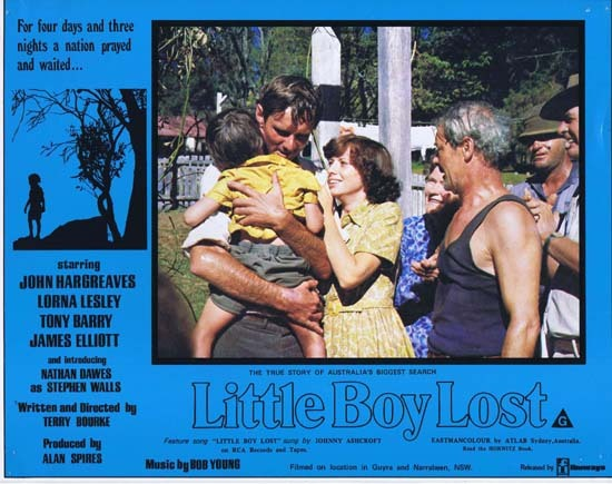 LITTLE BOY LOST 1978 Australian Film Classic Rare Lobby Card 7