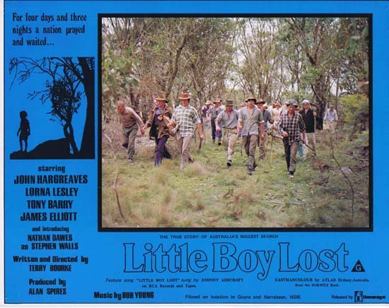 LITTLE BOY LOST 1978 Australian Film Classic Rare Lobby Card 8