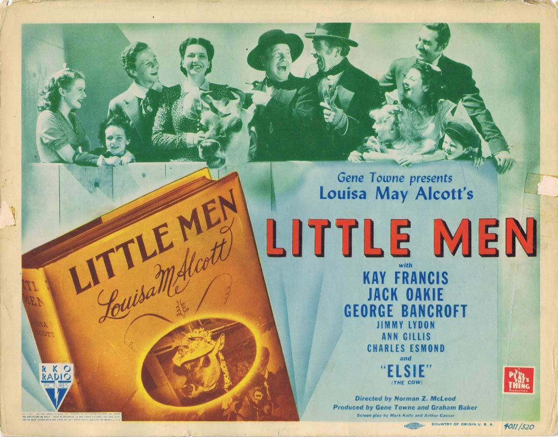 LITTLE MEN Original Title Lobby Card Kay Francis Jack Oakie George Bancroft