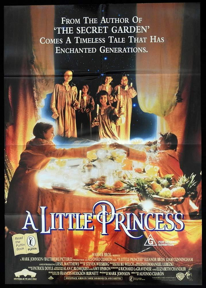 A LITTLE PRINCESS One sheet Movie poster 1995 Eleanor Bron Matthews
