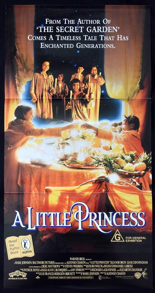 A LITTLE PRINCESS daybill Movie poster 1995 Eleanor Bron Matthews