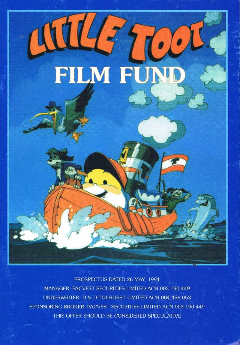 LITTLE TOOT Original Australian Film PROSPECTUS 1994