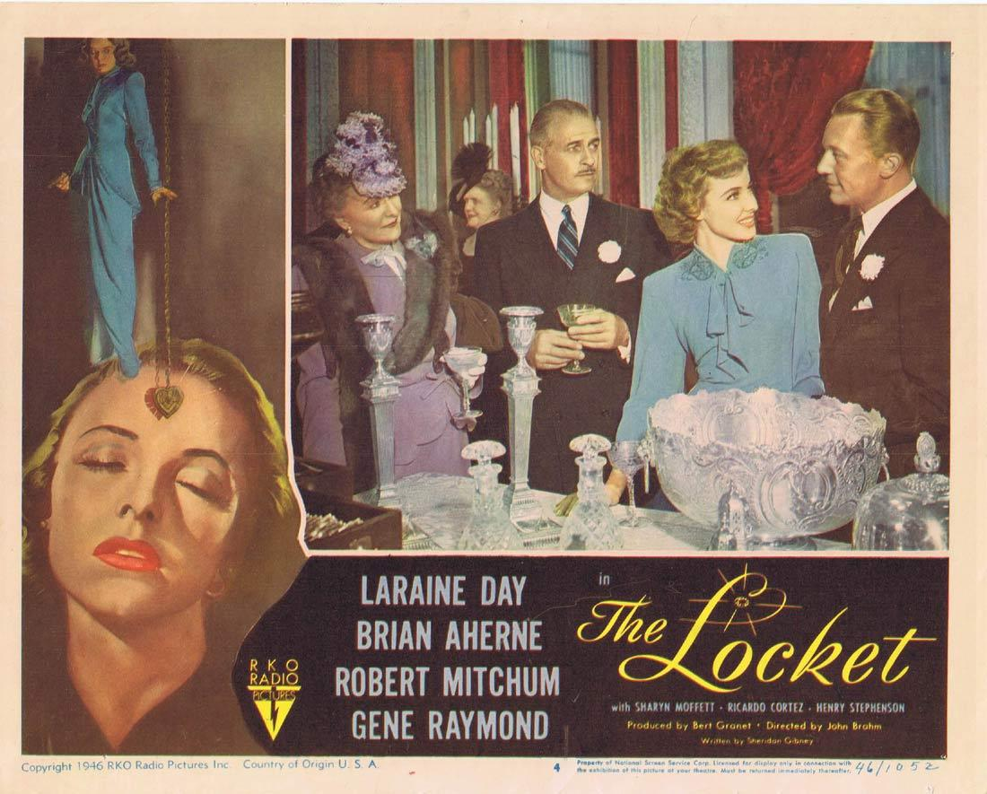 THE LOCKET Lobby Card 4 Laraine Day Brian Aherne Robert Mitchum
