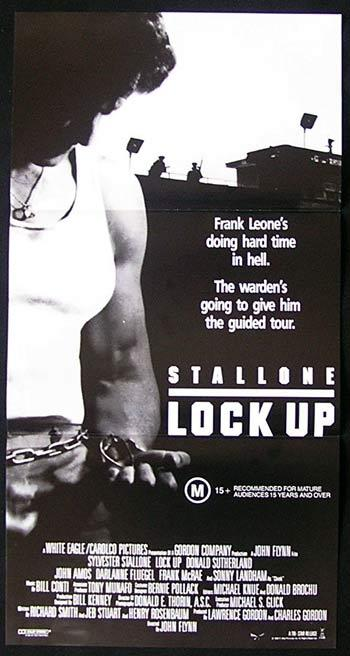 LOCK UP Sylvester Stallone Australian Daybill Movie poster