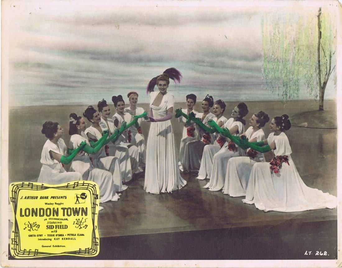 LONDON TOWN Original Lobby Card Sid Field Petula Clark Greta Gynt