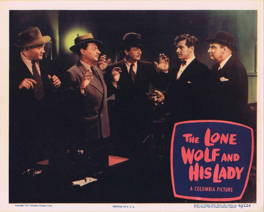 THE LONE WOLF AND HIS LADY Lobby Card Ron Randell