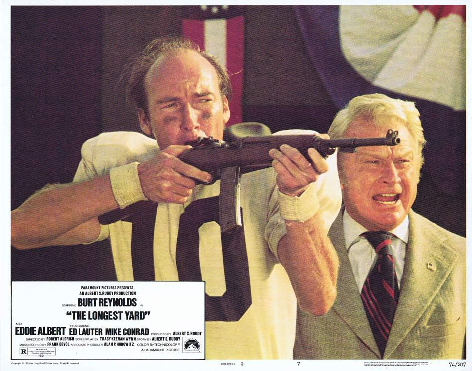THE LONGEST YARD Lobby Card 7 Eddie Albert Ed Lauter