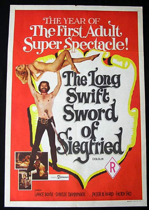 LONG SWIFT SWORD OF SIEGFRIED '71-Lance Boyle 1 sheet