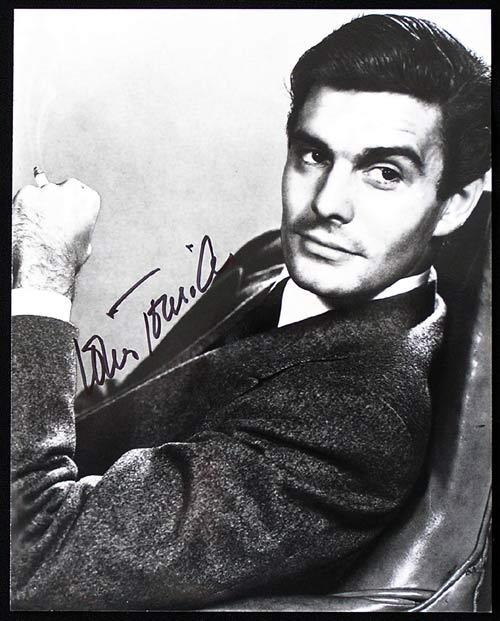LOUIS JOURDAN Star of Hitchcock's The Paradine Case and the musical Gigi