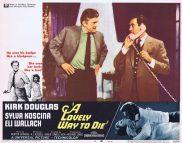 A LOVELY WAY TO DIE Lobby Card 4 Kirk Douglas Sylva Koscina Eli Wallach