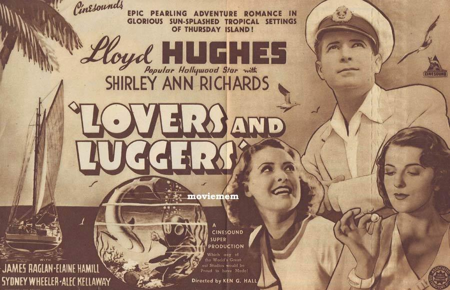 LOVERS AND LUGGERS Movie Herald Australian Cinema Classic Ken G.Hall