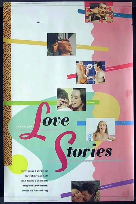LOVE STORIES Robert Randall Australian One Sheet Movie Poster