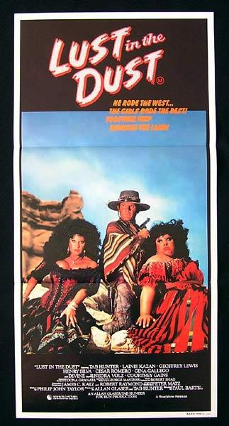 LUST IN THE DUST Daybill Movie Poster DIVINE
