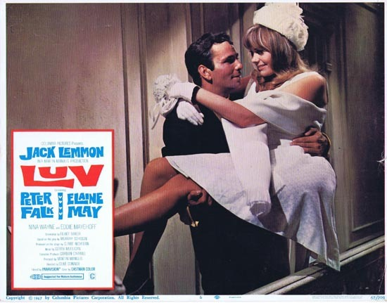 LUV 1967 Jack Lemmon Elaine May US Lobby card 6
