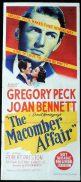 THE MACOMBER AFFAIR Original Daybill Movie Poster Joan Bennett Robert Cummings