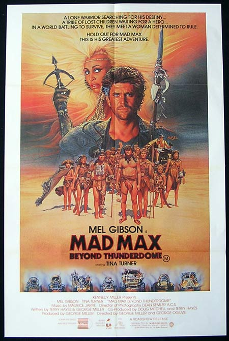 MAD MAX BEYOND THUNDERDOME Movie Poster Australian One sheet