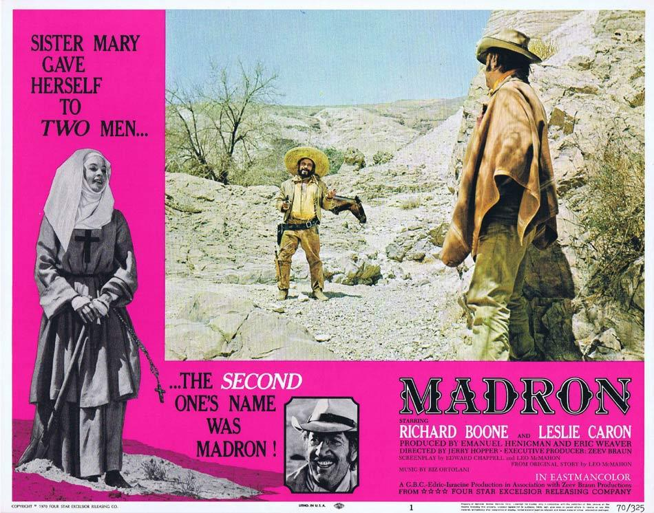 Madron, Jerry Hopper, Richard Boone Leslie Caron
