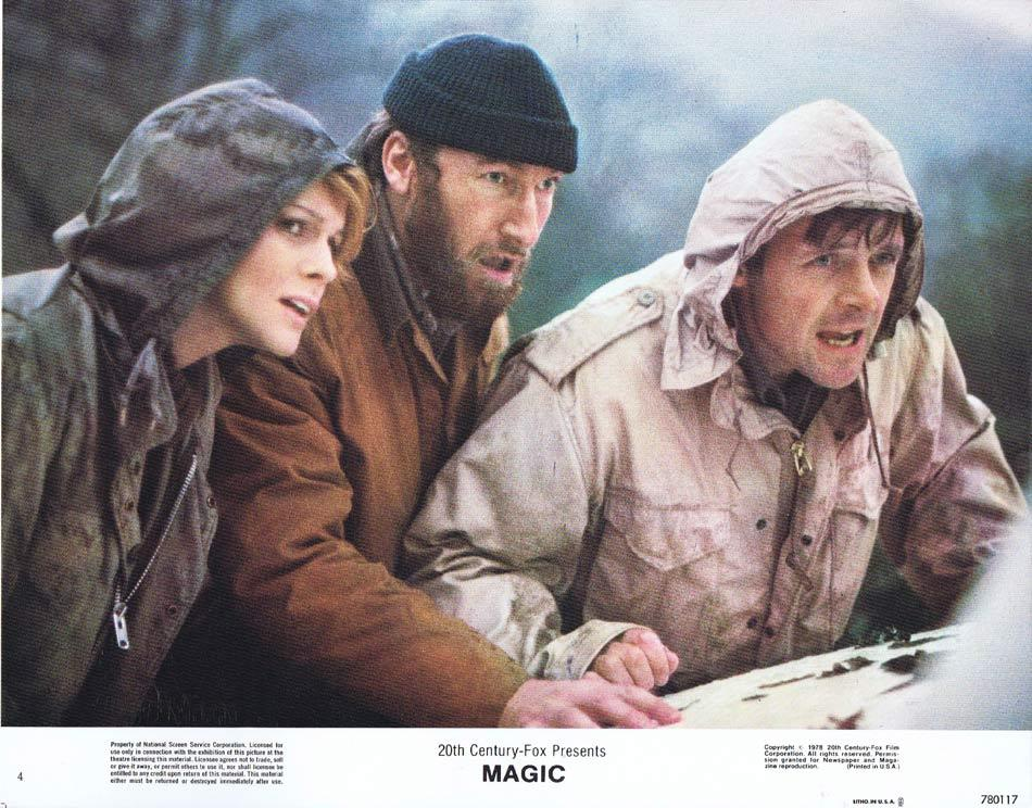 Magic, Richard Attenborough, Anthony Hopkins Ann-Margret Burgess Meredith Ed Lauter David Ogden Stiers