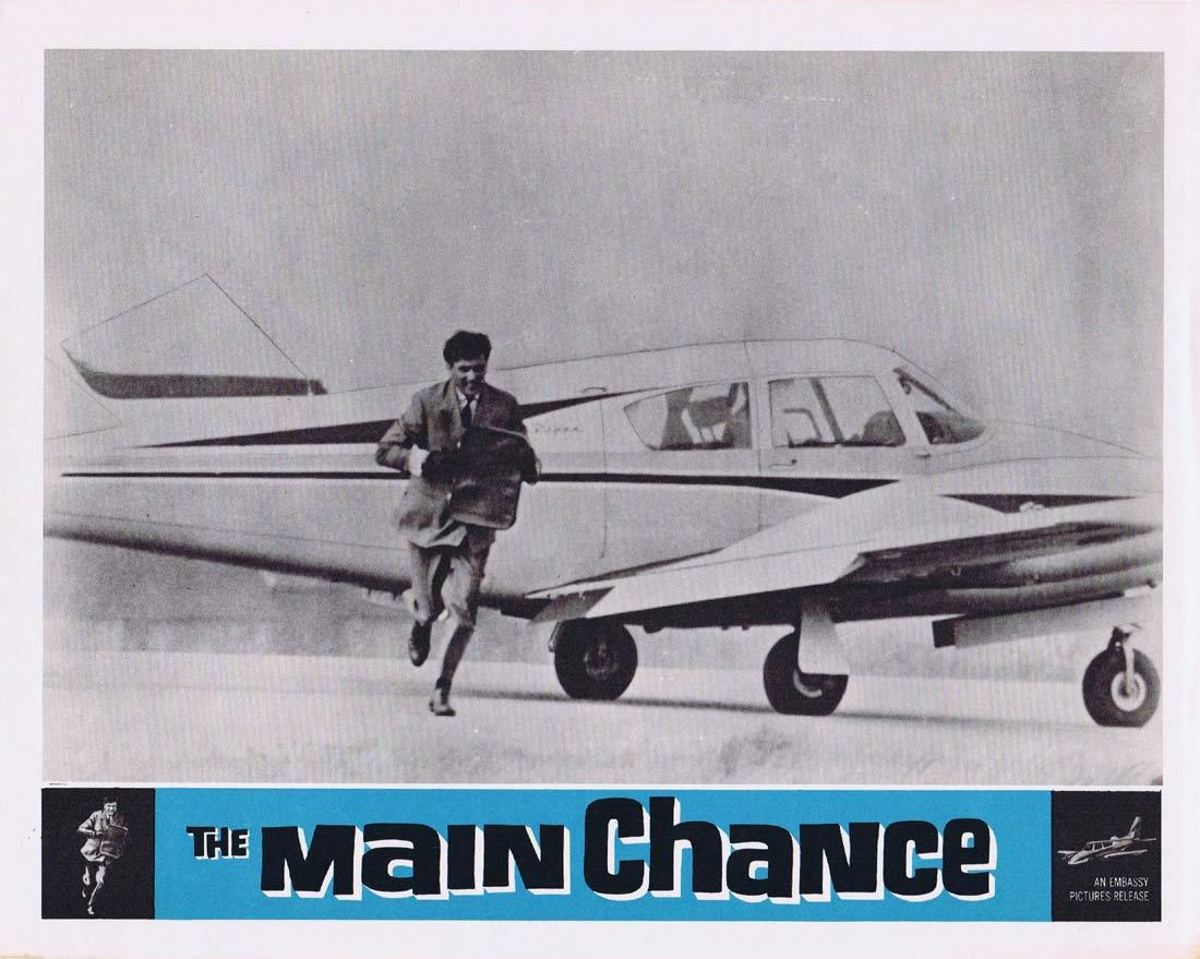 THE MAIN CHANCE Vintage Movie Lobby Card 4 Edgar Wallace Gregoire Aslan Tracy Reed