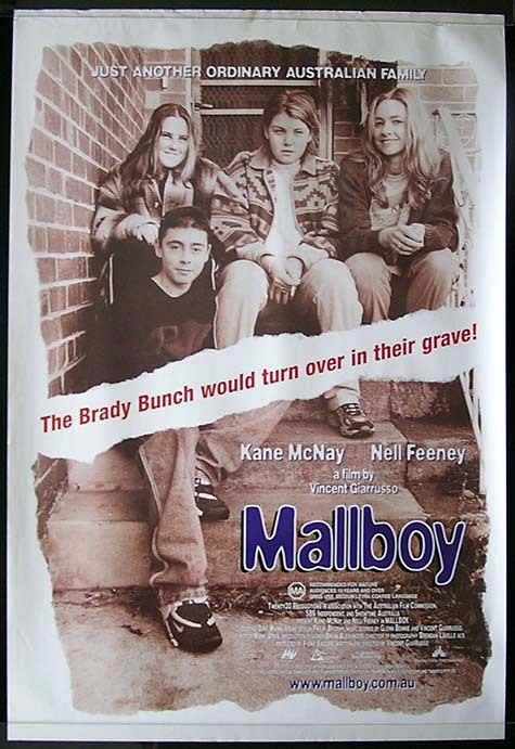MALLBOY Kane McNay Australian One Sheet Movie Poster