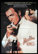 THE MAMBO KINGS One sheet Movie Poster Armand Assante Antonio Banderas