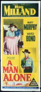 * test Daybill Movie Poster Ray Milland Western