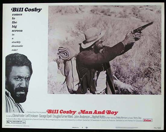 MAN AND BOY 1971 Bill Cosby ORIGINAL US Lobby card 4