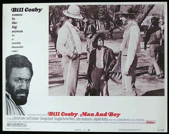 MAN AND BOY 1971 Bill Cosby ORIGINAL US Lobby card 5