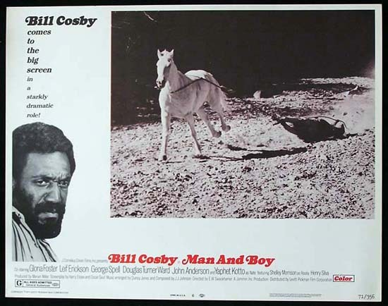 MAN AND BOY 1971 Bill Cosby ORIGINAL US Lobby card 6