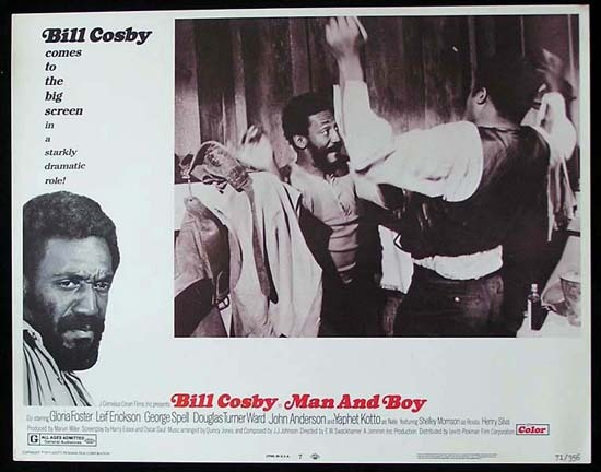 MAN AND BOY 1971 Bill Cosby ORIGINAL US Lobby card 8