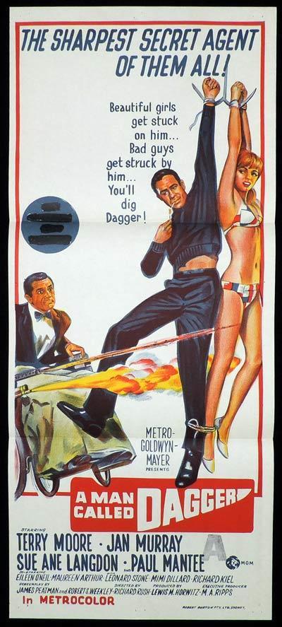 A MAN CALLED DAGGER Daybill Movie Poster