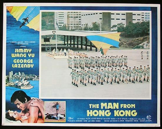 MAN FROM HONG KONG 1975 George Lazenby RARE Lobby Card 3