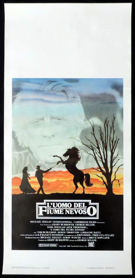 THE MAN FROM SNOWY RIVER Italian Locandina Movie Poster Tom Burlinson