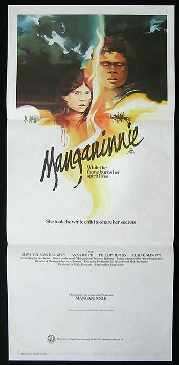 MANGANINNIE Original daybill Movie Poster Mawuyul Yanthalawuy