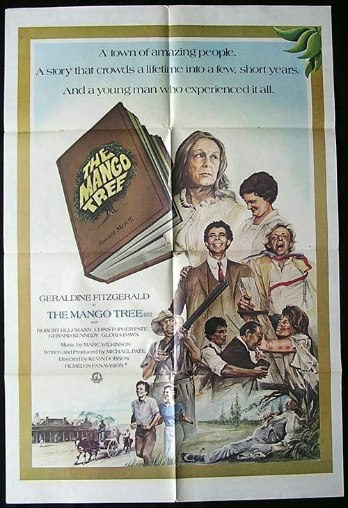 MANGO TREE Movie poster 1977 Country of Origin ONE SHEET Australian Film