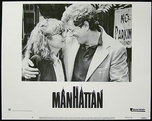 MANHATTAN 1979 Woody Allen Diane Keaton Lobby Card 8