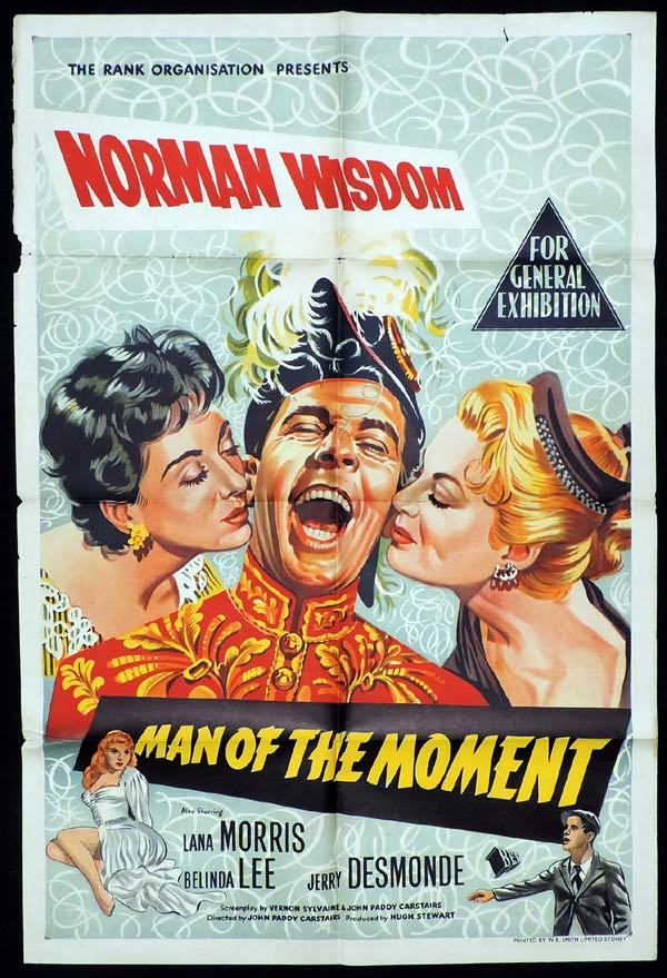 MAN OF THE MOMENT One Sheet Movie Poster Norman Wisdom