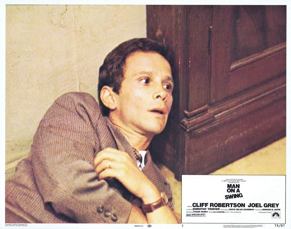 MAN ON A SWING Lobby Card 7 Cliff Robertson Joel Grey Dorothy Tristan