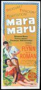 MARA MARU Original Daybill Movie Poster Errol Flynn