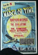 1933 AUSTRALIAN NEWSREEL March of Time ORGINAL Movie poster