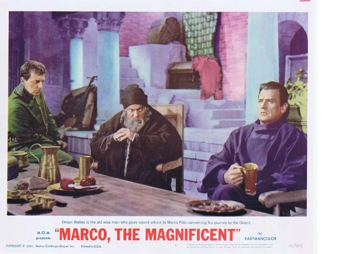 MARCO THE MAGNIFICENT Lobby Card 5 Horst Buchholz Anthony Quinn