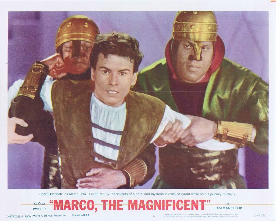MARCO THE MAGNIFICENT Lobby Card 8 Horst Buchholz Anthony Quinn