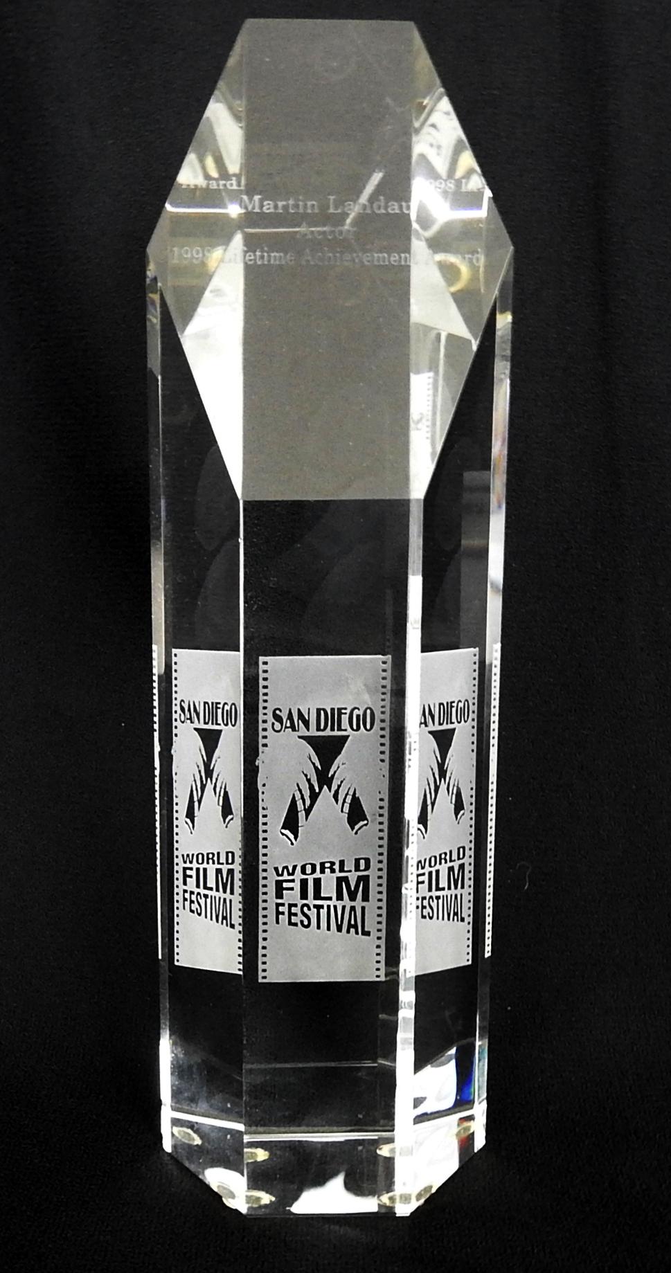 MARTIN LANDAU Lifetime Achievement Award San Diego 1998