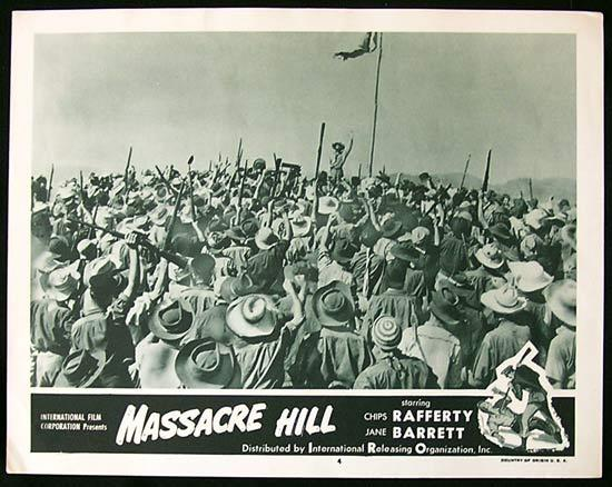 EUREKA STOCKADE aka MASSACRE HILL Lobby Card 4 1954 Chips Rafferty
