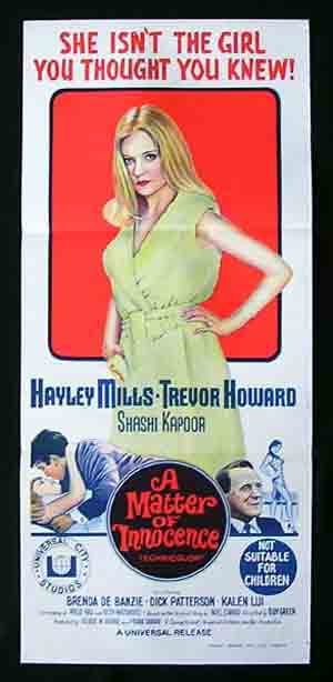 MATTER OF INNOCENCE'68-Hayley Mills PRETTY POLLY poster