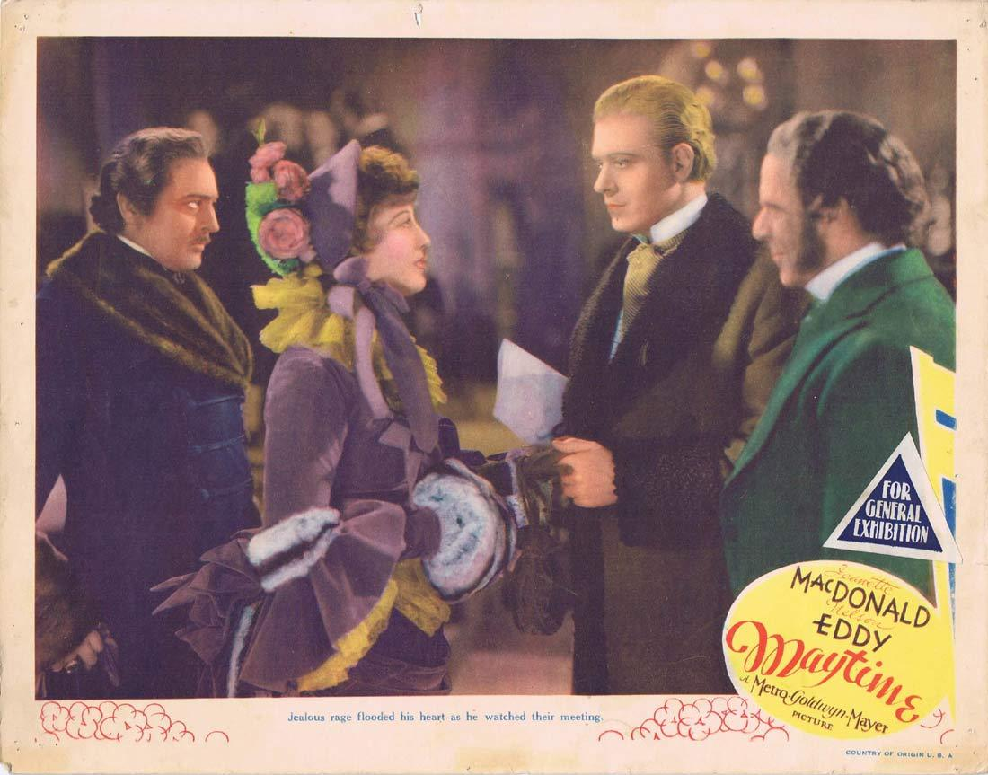 MAYTIME Original Lobby Card Jeanette MacDonald Nelson Eddy